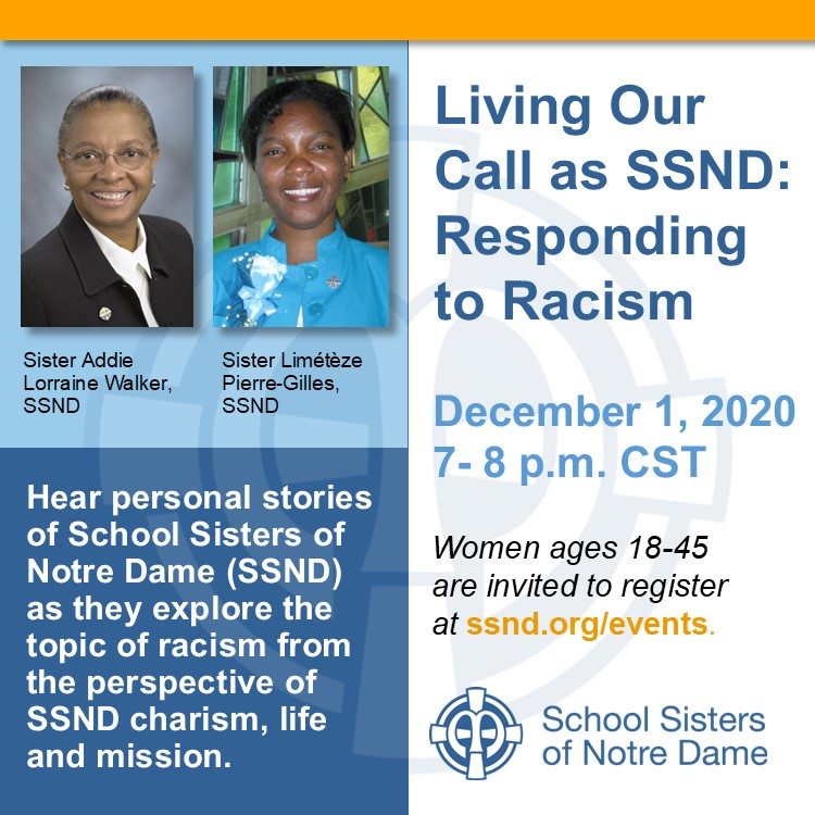 Living Our Call as SSND: Responding to Racism