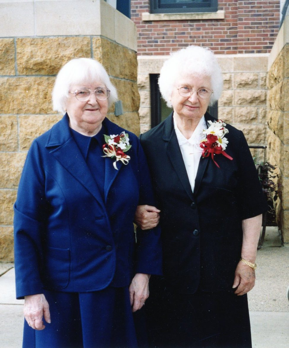 Sisters Christine and Barbara Mardian, SSND