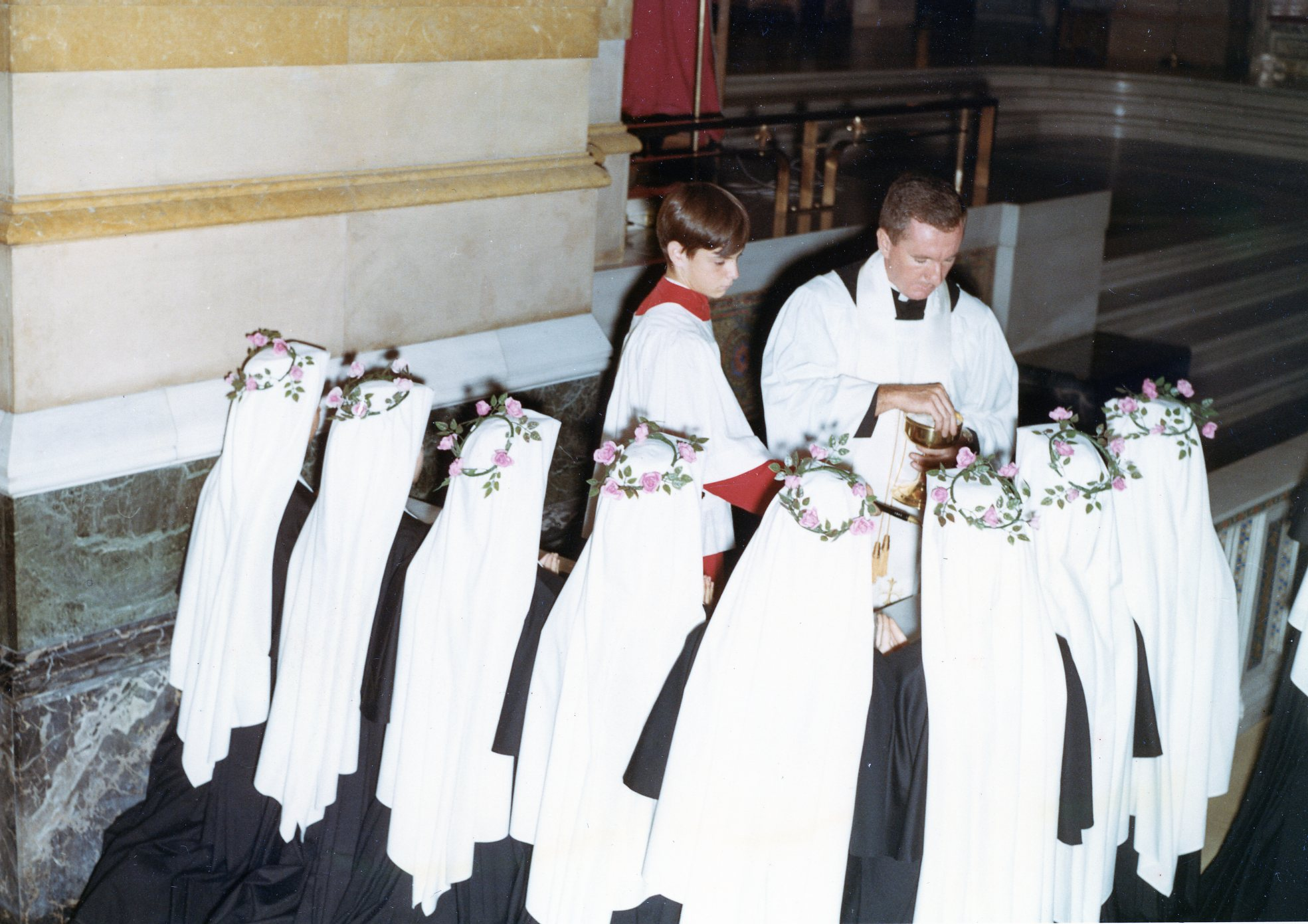 SSND reception ceremony, St. Louis 1966